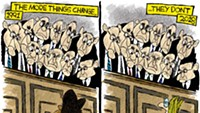 Claytoon of the Day: The More Things Change