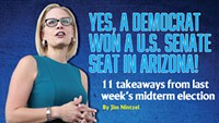Yes, a Democrat Won a U.S. Senate Seat in Arizona!