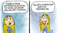 Claytoon of the Day: But Her Emails