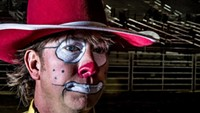 Rodeo Clown Comes to Town