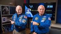 Twins Peek: Scott, Mark Kelly help NASA