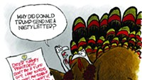 Claytoon of the Day: Trump's Turkey Letter