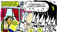 Claytoon of the Day: Miller Gets His White On