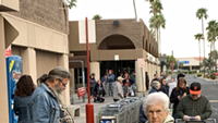 Waiting in Vain? Tucsonans Line Up Early to Buy Groceries