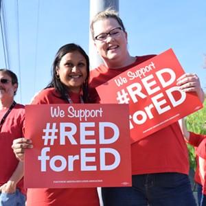 The Strike Is On: Arizona Teachers Prepared for Walkout Next Week
