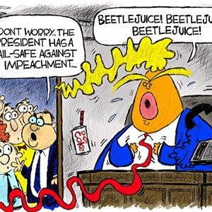 Claytoon of the Day: Impeach! Impeach! Impeach!