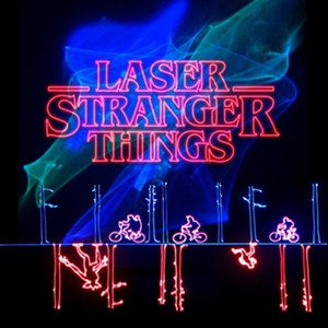 Laser Stranger Things at the Flandrau Planetarium