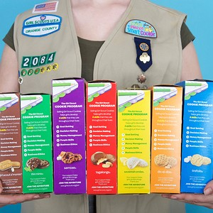 Get Your Girl Scout Cookies This Weekend