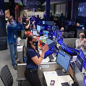 OSIRIS-REx Team Announces Successful Sample Retrieval