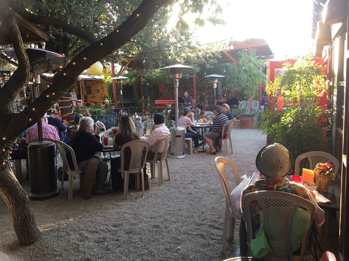 Courtyard at La Cocina, by Carla C.