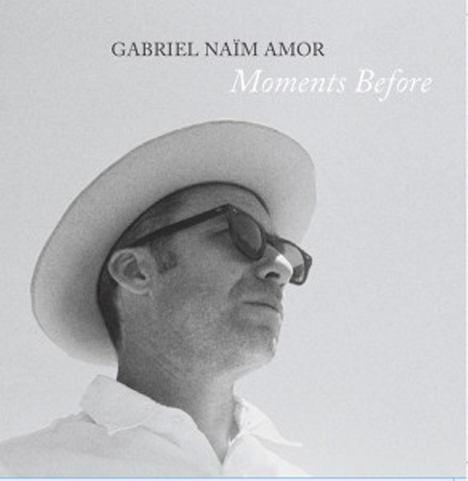 The cover of Naim Amor's new album, Moments Before.