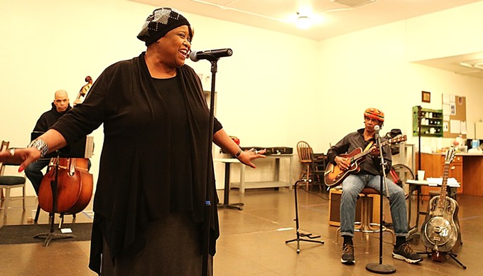 Felicia C. Fields is singing the Low Down Dirty Blues in ATC's next production.