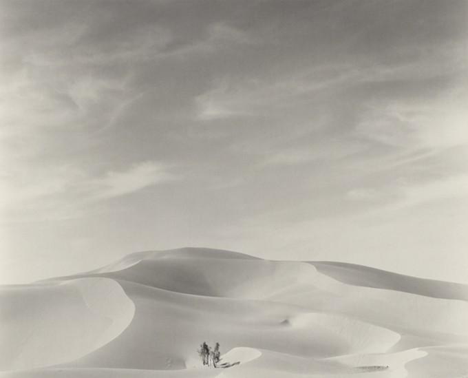 Lynn Stern, Extended Landscape #82: 14B, 1982 (El Geolea, Algeria), 1982 © Lynn Stern