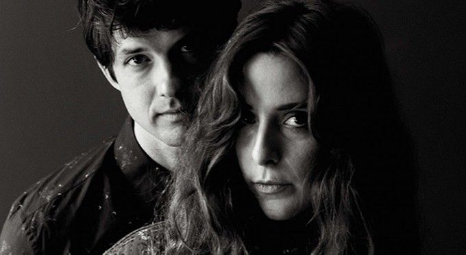 Victoria Legrand and guitarist Alex Scally