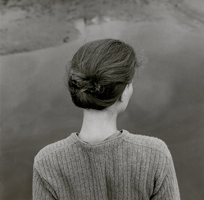 """Edith, Chincoteague, Virginia,"" by Emmet Gowin, gelatin silver print, 1967. © Emmet and Edith Gowin"