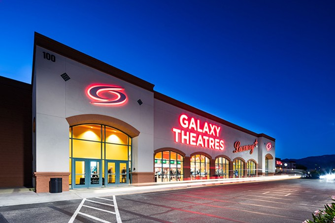 Galaxy Theatres has opened.