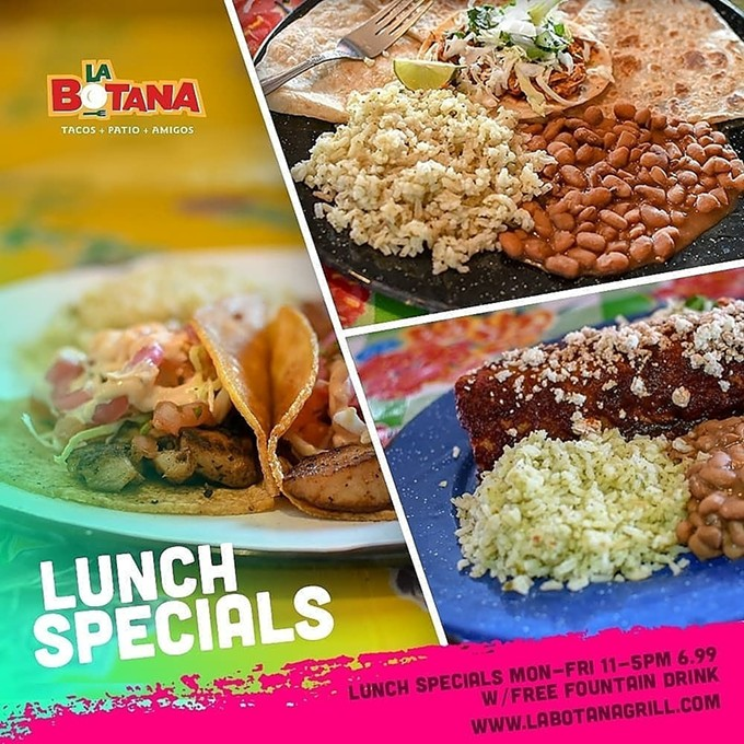 Lunch Specials 11-5 M-F