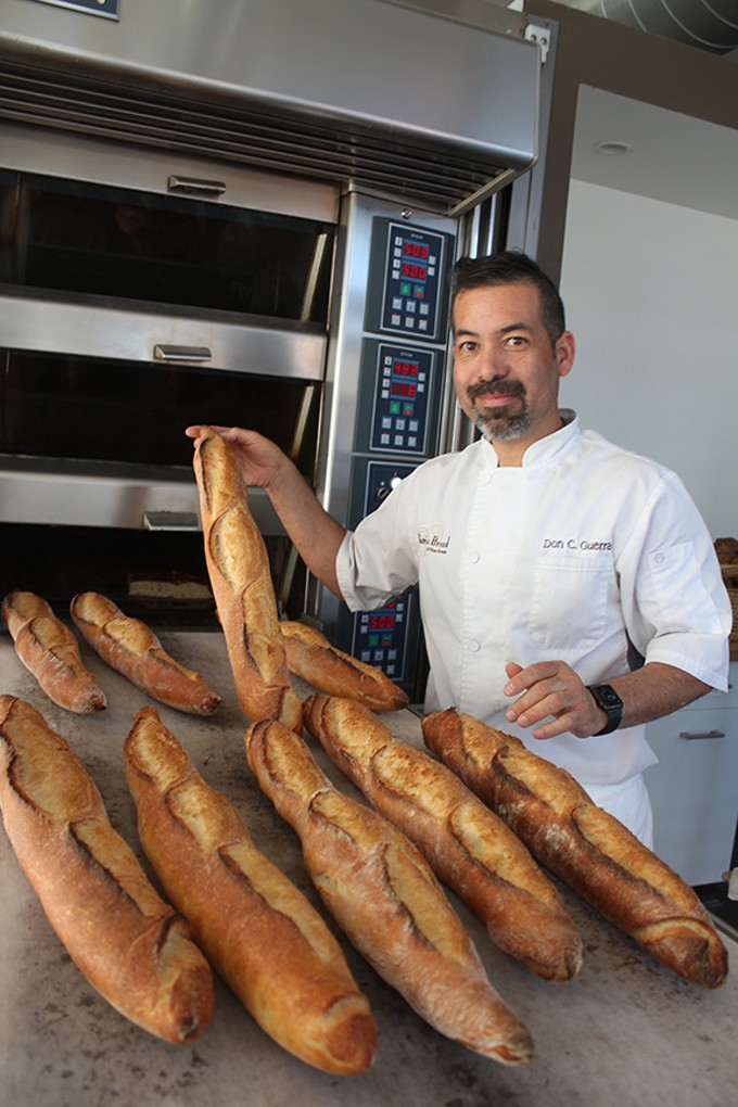 "Barrio Bread owner Don Guerra: ""I want to replace some of today's commodity flours and replace them with local grains."""