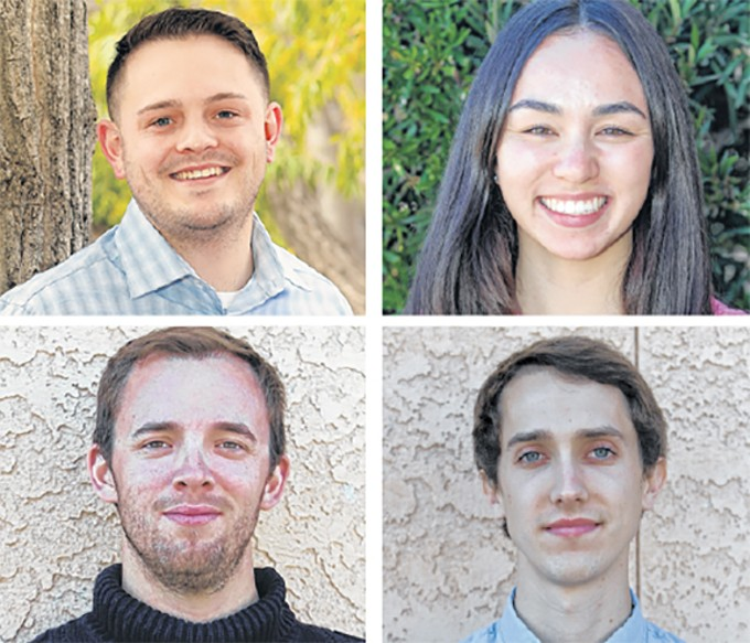 Clockwise, from top right: Tucson Local Media staff Logan Burtch-Buus, Kathleen Kunz, Jeff Gardner and Christopher Boan were among the big winners at this year's Arizona Newspapers Association awards.
