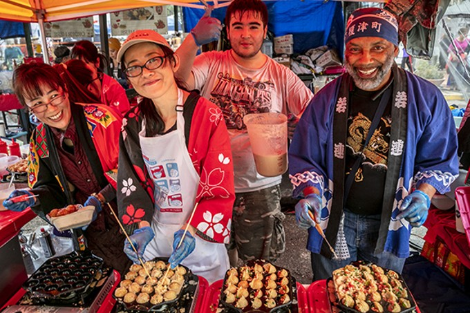 You'll find everything from Yaqui tacos to takoyaki at Tucson Meet Yourself