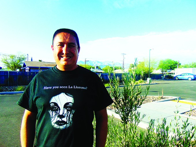 Christopher Rodate grew up hearing ghost stories, and turned them into a book, La Llorona: Ghost Stories of the Southwest.