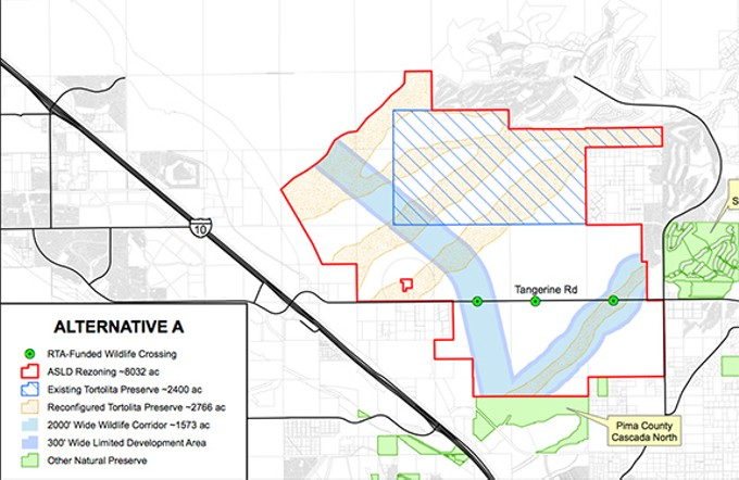 Marana and the State Land Department continue to negotiate the 8,000 acres at stake.