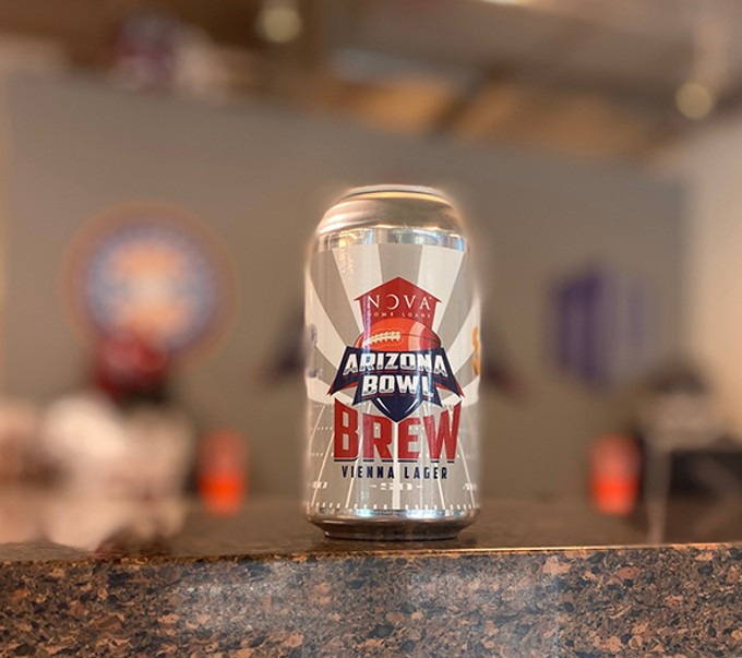 Yes, Tucson's bowl game has its own commemorative beer, courtesy of Barrio Brewing Company.