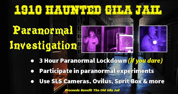 Ghost Hunt  Paranormal Lockdown