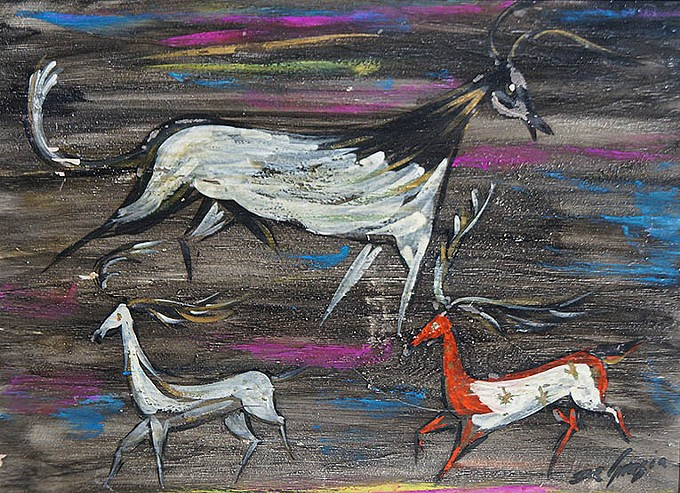 """""""Tempera Paintings of Ted DeGrazia"""""""