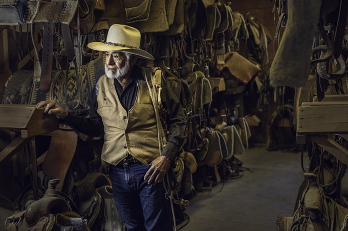 """This stunning portrait of """"Cowboy Joe"""" from the Tanque Verde Ranch illustrates one of the beautiful lighting techniques attendees of The Photo Creators workshop May 3-6."""