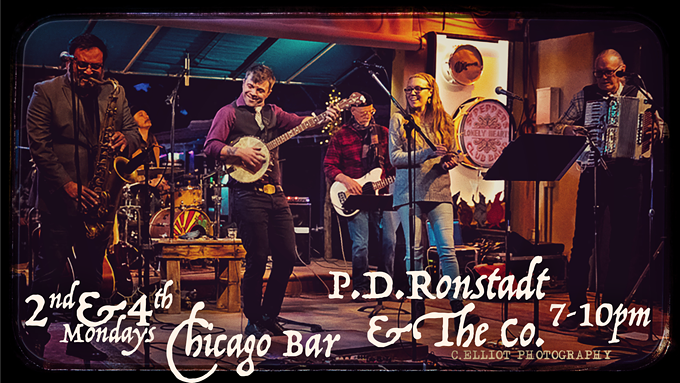 P.D. Ronstadt & The Co. at Chicago Bar 2nd and 4th Mondays