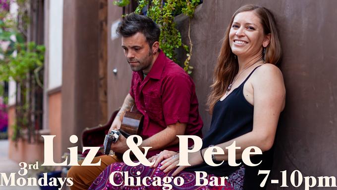 Liz & Pete at Chicago Bar (3rd Mondays)