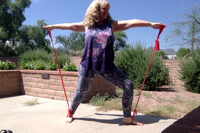 Yoga with Resistance Bands