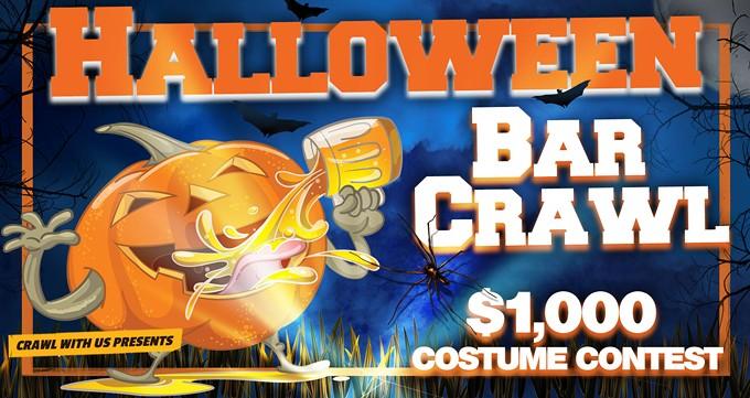 The 4th Annual Halloween Bar Crawl