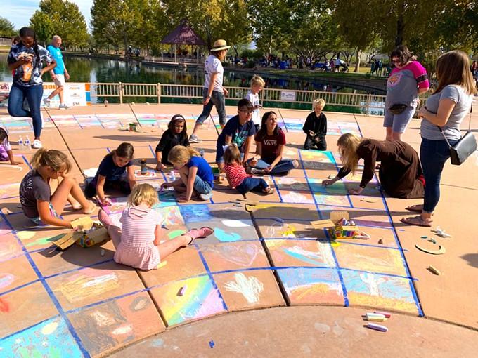 Sahuarita Chalk Art Festival