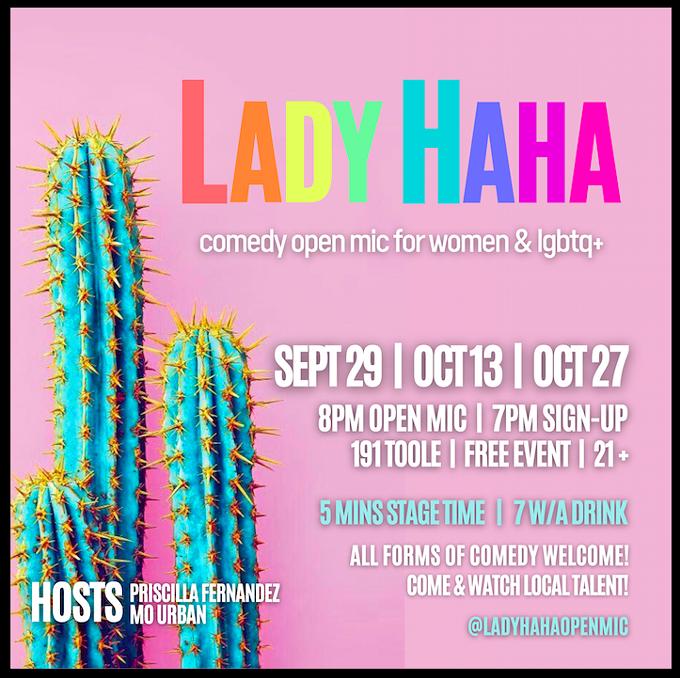 Lady Haha Invitation