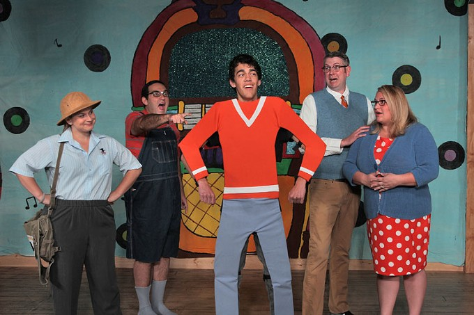Live Theater Workshop's All Together Theatre's The Musical Adventures of Flat Stanley.