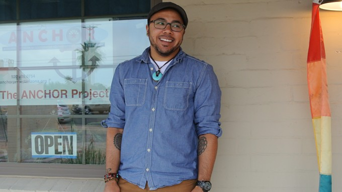 Ian Ellasante, program and evaluation coordinator of the ANCHOR Project, works to empower young adults.
