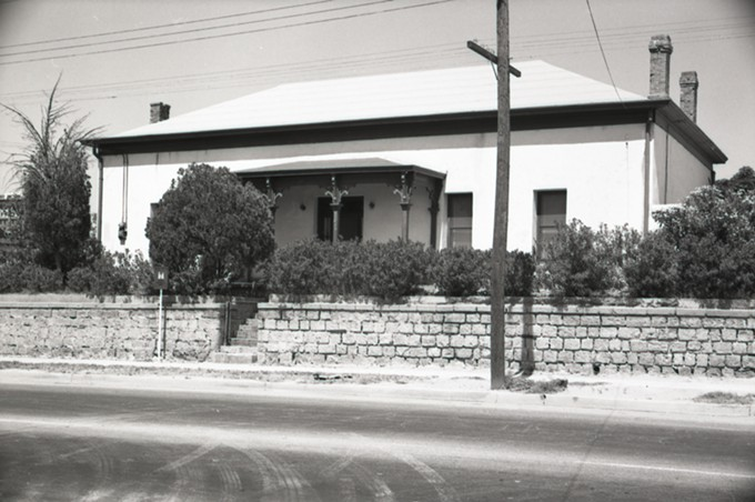 The Otero House on Tucson's Main Avenue, dismantled during urban renewal.