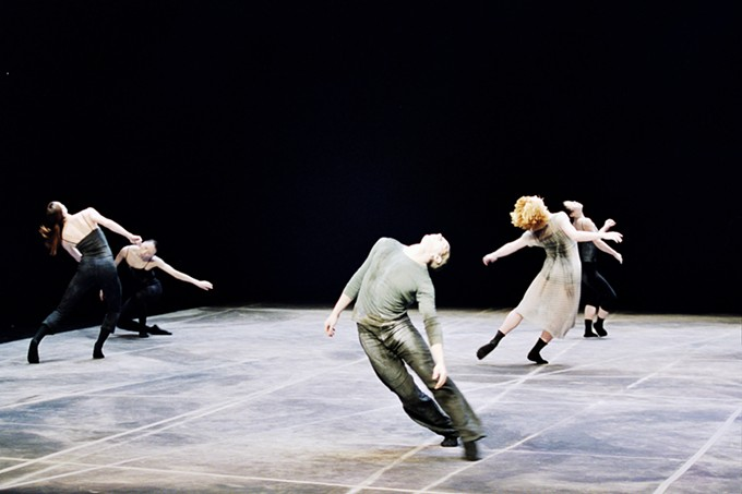 "Shen Wei's interpretation of ""Rite of Spring"" in a modern context."