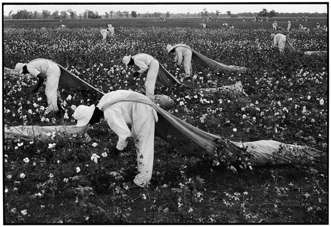 """""""Ferguson Unit, Texas,"""" by Danny Lyon, 1968, gelatin silver print, from """"Conversations with the Dead"""""""