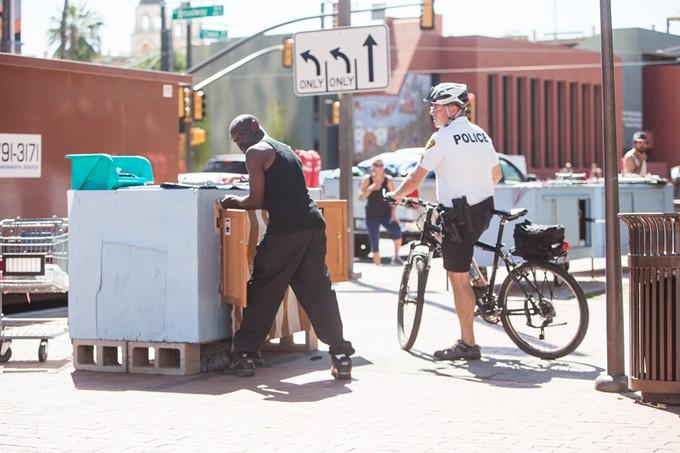 More city ordinances marginalize the homeless community, says Ward 3 Council Aide Brianda Torres.