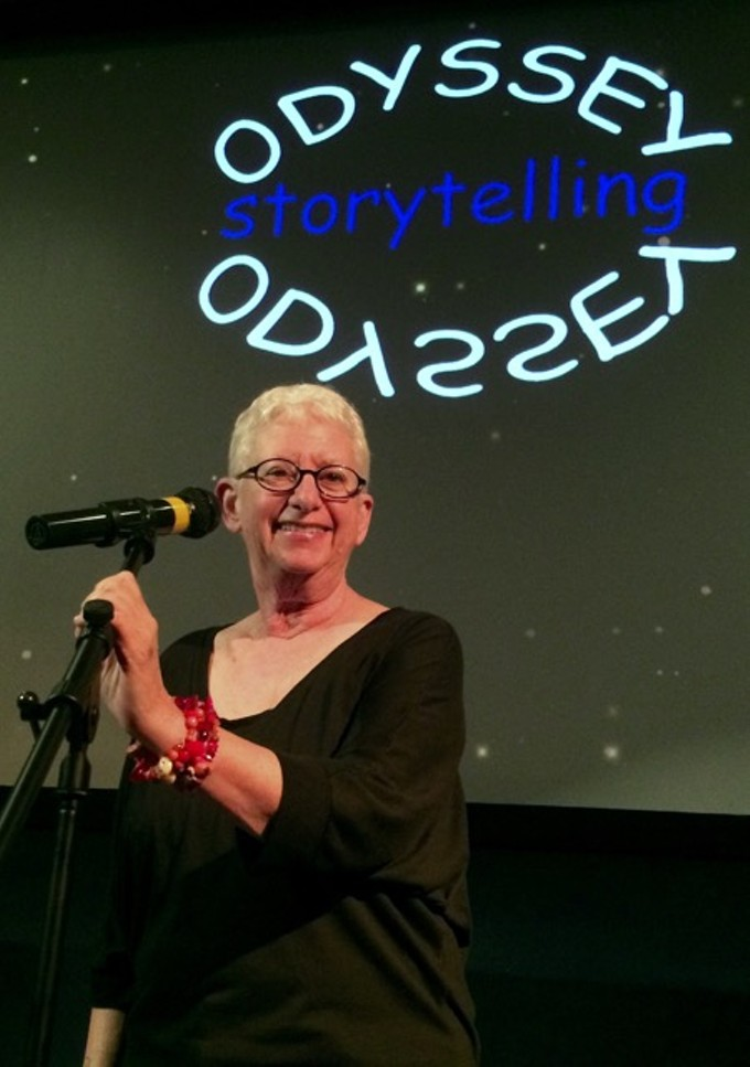 Penelope Starr, founder of Odyssey Storytelling, will be performing at the January show.