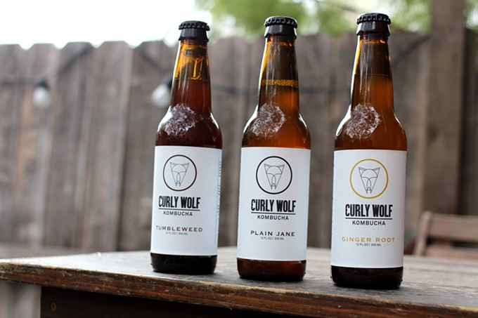Curly Wolf Kombucha is as much about health as it is flavor.