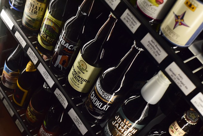 Bottles, cans and taps all stand at attention in Tucson this week for Arizona Beer Week.
