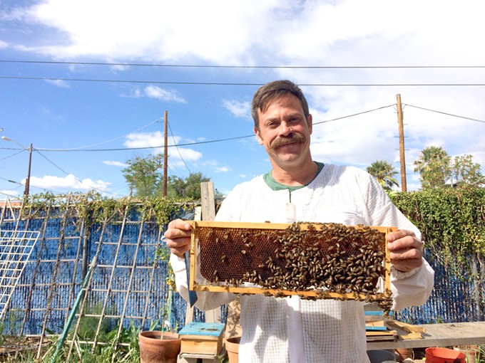 Dos Manos Apiaries is a labor of love and community involvement for Noel Patterson