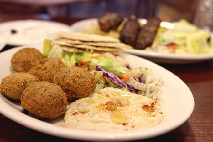 Vegetarian options at Jasmine Restaurant and Market leave much to be desired.