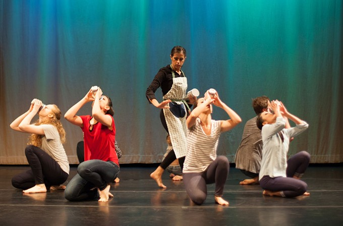 "Phoenix's Mac & Company dancers will perform ""Pourin' a Cup"" at ZUZI's Four concert this weekend."