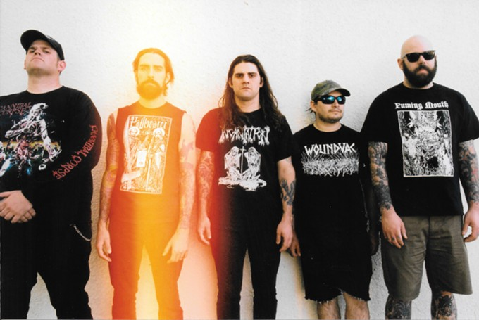 Get ready for the heavy 2016 release Sonoran Depravation from Gatecreeper.