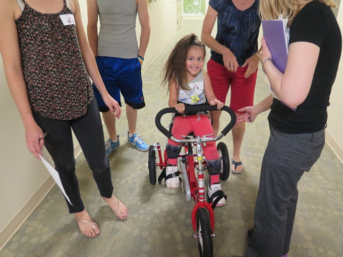 Every kid, of every ability, should get the chance to ride a bike.